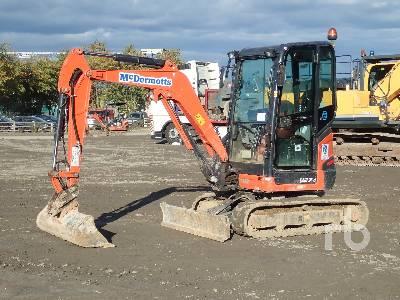 2016 KUBOTA U27-4 Mini Excavator (1 - 4.9 Tons)