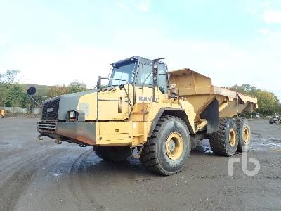2007 KOMATSU HM400-2 6x6 Articulated Dump Truck