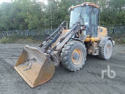 2007 JCB 411HT Wheel Loader