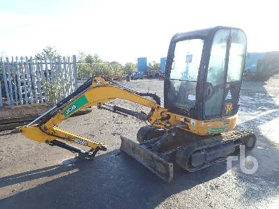 2014 JCB 8025 Mini Excavator (1 - 4.9 Tons)
