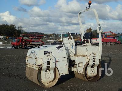 2011 BOMAG BW135AD Tandem Vibratory Roller