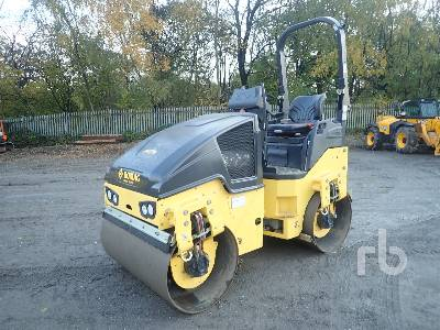 2017 BOMAG BW120AD-5 Tandem Vibratory Roller