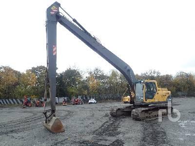 2006 VOLVO EC210BLR Long Reach Hydraulic Excavator