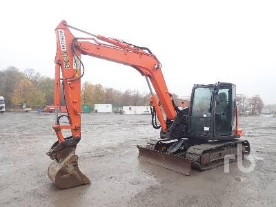 2015 HITACHI ZX85USB-5A Midi Excavator (5 - 9.9 Tons)