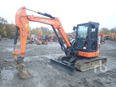 2016 HITACHI ZX48U-5A CLR Mini Excavator (1 - 4.9 Tons)