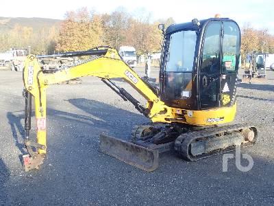2012 JCB 8025 Mini Excavator (1 - 4.9 Tons)