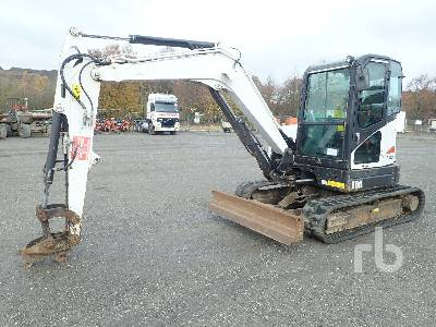 2013 BOBCAT E60 EA Midi Excavator (5 - 9.9 Tons)