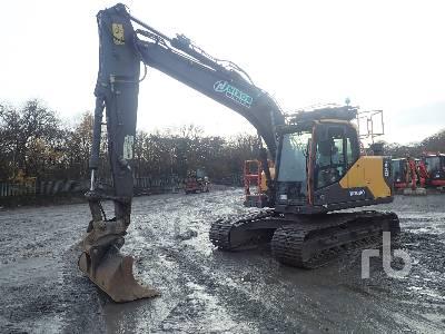 2016 VOLVO EC140EL Hydraulic Excavator