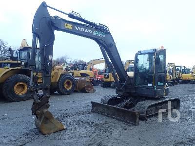 2014 VOLVO ECR88D Midi Excavator (5 - 9.9 Tons)
