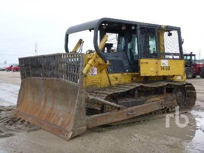 Komatsu D31P-20 Crawler Tractor Specs & Dimensions