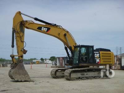 Caterpillar 349E Hydraulic Excavator Specs & Dimensions