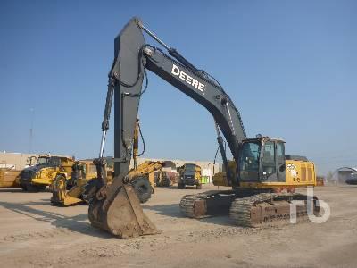 John Deere 350D LC Hydraulic Excavator Specs & Dimensions