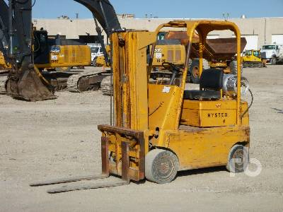 Hyster Pneumatic Tire Forklift: <15,000lb For Sale | IronPlanet