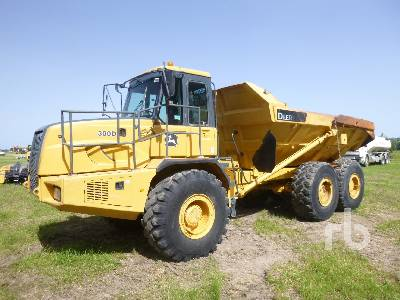 2002 JOHN DEERE 300D 6x6 Articulated Dump Truck