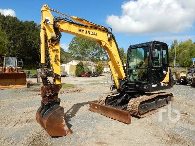 2009 HYUNDAI ROBEX 55-7A Midi Excavator (5 - 9.9 Tons)