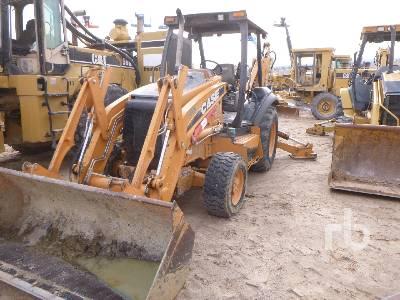 2012 CASE 580N Loader Backhoe