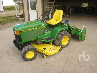 John Deere 445 >> Lawn Mowers From Top Manufacturers Available Ritchie Bros