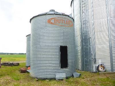 Butler Grain Bins For Sale   IronPlanet