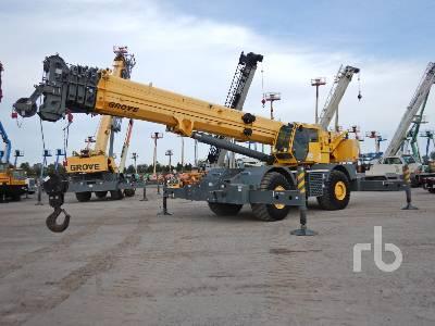 2011 GROVE RT890E 90 Ton 4x4x4 Rough Terrain Crane