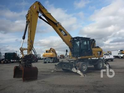 2010 CATERPILLAR M318D MH 4x4 Mobile Excavator