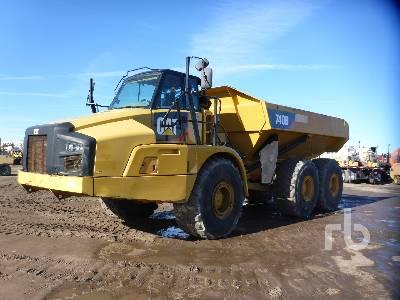 2014 CATERPILLAR 740B 6x6 Articulated Dump Truck