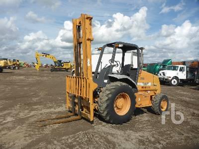 2012 CASE 586G 6000 Lb Rough Terrain Forklift