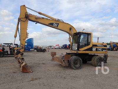 1995 CATERPILLAR M318 4x4 Mobile Excavator