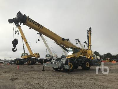 2004 GROVE RT760E 60 Ton 4x4x4 Rough Terrain Crane