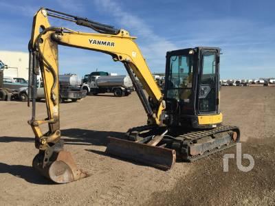 2016 YANMAR VIO55-6A Midi Excavator (5 - 9.9 Tons)