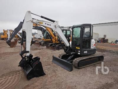 2014 BOBCAT E45 Midi Excavator (5 - 9.9 Tons)
