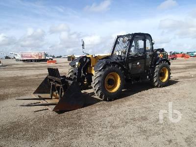 2014 CATERPILLAR TH337C 7200 Lb 4x4x4 Telescopic Forklift