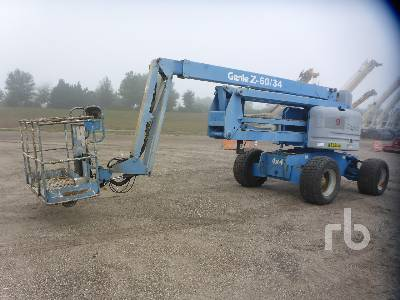 2007 GENIE Z60/34 4x4 Articulated Boom Lift