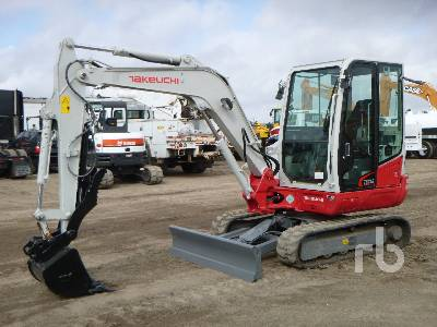 2017 TAKEUCHI TB240 Mini Excavator (1 - 4.9 Tons)