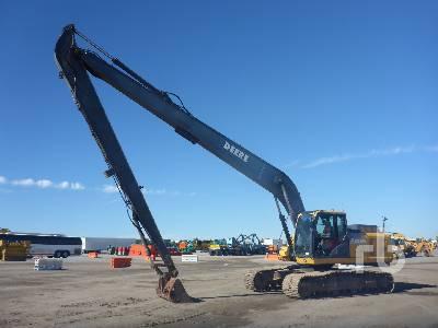 2012 JOHN DEERE 250G LC Long Reach Hydraulic Excavator