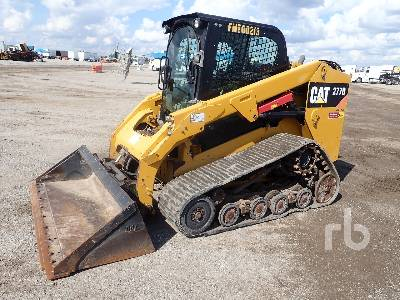 2014 CATERPILLAR 277D 2 Spd Multi Terrain Loader