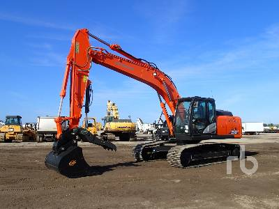 2018 HITACHI ZX210LC-6 Hydraulic Excavator