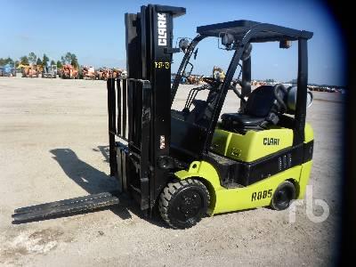 2013 CLARK C25CL 4800 Lb Forklift