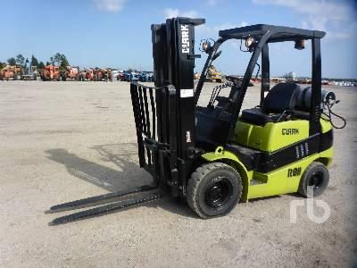 2012 CLARK C25L 4800 Lb Forklift