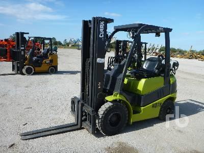 2012 CLARK C25P 4800 Lb Forklift