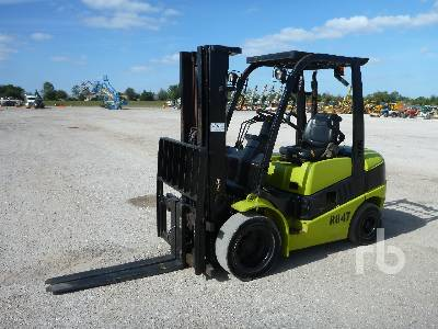 2013 CLARK C30D 4800 Lb Forklift