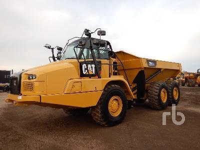 2018 CATERPILLAR 725C2 6x6 Articulated Dump Truck