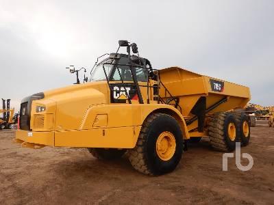 2017 CATERPILLAR 745C 6x6 Articulated Dump Truck