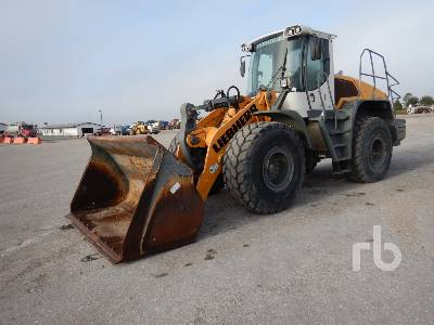 2015 LIEBHERR L550 Wheel Loader