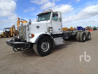 2004 PETERBILT 357 T/A Cab & Chassis