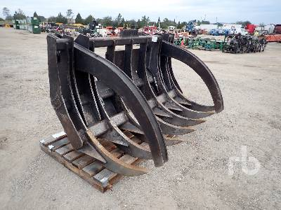 CATERPILLAR Q/C 84 In. Wheel Loader Grapple