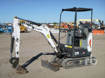 2015 BOBCAT E20 Mini Excavator (1 - 4.9 Tons)