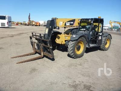 2013 CATERPILLAR TL642C 6600 Lb 4x4x4 Telescopic Forklift