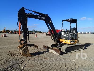 2013 JOHN DEERE 50G Midi Excavator (5 - 9.9 Tons)