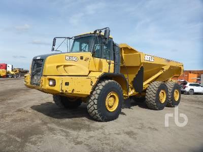 2013 BELL B35D 6x6 Articulated Dump Truck