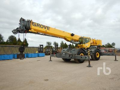 2005 GROVE RT760E 60 Ton 4x4x4 Rough Terrain Crane